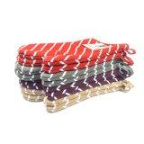 AZO-druckte freies Baumwollsegeltuch-Küche-Backen-Handschuh Wih Streifen-Muster