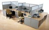 L moderna divisorio mezzo della stazione di lavoro dell'ufficio dello scrittorio di figura (SZ-WST803)