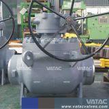 Acero forjado de hierro fundido o válvula de bola de entrada superior
