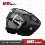 De Berijdende Beschermende brillen van de Helm van de motorfiets met het Verwijderbare Open Masker van het Gezicht