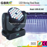 luz principal móvil de la viga de 36PCS*3W RGBW LED