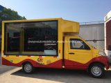 Foton mini LED que hace publicidad del carro 3 toneladas de vehículo publicitario móvil