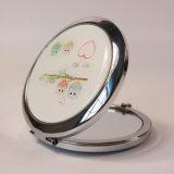 De hete Kosmetische Spiegel van de Zak van de Gift van de Reclame van het Roestvrij staal van de Douane Mini
