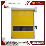 Puerta de alta velocidad automática del edificio con el PVC