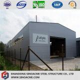 倉庫のための鋼鉄プレハブの木造家屋