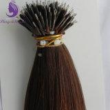 Estensione Nano dei capelli dell'anello di colore del Brown dissipata doppio (NR12)