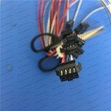 weiblicher Verbinder-Stecker-Extensions-Draht 2.5mm Inspektions-4-Pin, Endstück, das auf das Zinn 5mm entfernt