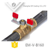 Шаровой клапан в алюминиевую ручку /бабочка рукоятку (EM-V-B160)