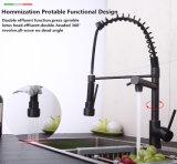 Два способа удаления сточных вод пружину Pullable Orb всеобщей кухня под струей горячей воды