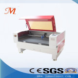 De populair-gebruikte Machine van de Laser voor het TextielKnipsel van het Borduurwerk (JM-1280h-CCD)