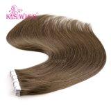 Extensão de cabelo humano natural cabelo fita dupla