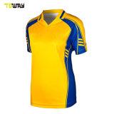 Nuovo Modello Stampato Cricket Jersey Logo Design