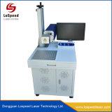 máquina de marcação a laser de fibra de alta velocidade com uma precisão elevada