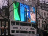 L'extérieur d'affichage du message DEL de couleur