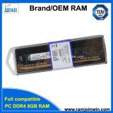 Известный бренд наклейки с логотипом OEM DDR4 RAM 2133Мгц 8GB 288-контактный PC17000 для настольных ПК ОЗУ