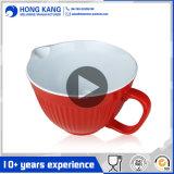Diseño personalizado de alimentos Snack MELAMINA BICOLOR Punch Bowl