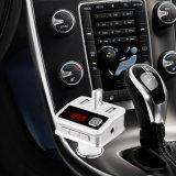 최신 판매 무선 차 MP3 선수 차 충전기 Bluetooth 핸즈프리 차 장비 FM 전송기