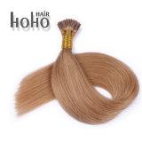 Keratine I van 12 Duim van de Producten van het haar Bruine het Menselijke Haar van het Uiteinde