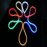 Ultrafino Blanco/Rojo/Amarillo/Verde/Azul/RGB LED Neon Flex de la luz de la cuerda