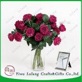 Boda Decrations Flores eterno mayorista rosa rosas conservadas con tallo