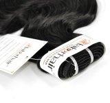 Grau 9uma onda de corpo 100% virgem extensões de cabelo humano indiano