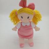 Шикарных девушек кукол ткани Мягкие плюшевые игрушки игрушки ношения одежды можно изменить Лучшие подарки для детей в день рождения для девочек кровать игрушка