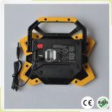 新しい15W再充電可能なLED作業ライト