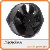 172x150x55mm Ventilador Axial de metal con el tipo de terminal 230V AC para enfriamiento Escape
