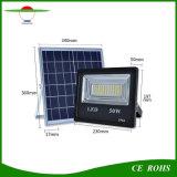 30W/50 Вт/100W/150 Вт высокая яркость пульта дистанционного управления IP66 прожекторов на солнечной энергии солнечного сада лампы