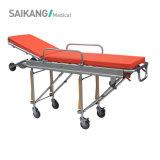 Medizinische Geräteeinfache Krankenwagen-Bahre-Laufkatze