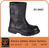 Высокая лодыжки стали Toe строительство горнодобывающих защитные ботинки SC-6603
