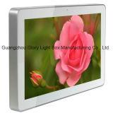 Binnen Muur die LCD van de Rang Digitale Signage opzet