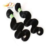 熱い販売のモンゴルのRemyの毛7Aの毛は編む