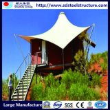 Chambre en acier préfabriquée accessible et bien isolée
