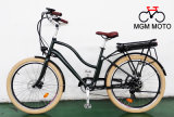 250W 500W Classical Fat Tire 26 pouces City Electric Bicycle