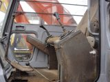 A cor original Japão fêz a esteira rolante de Hitachi Ex200-1 a máquina escavadora hidráulica