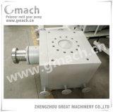 Pompe à engrenages à haute pression de fonte de débit de Gmach grande pour l'extrudeuse en plastique