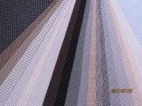 UV proteger o incêndio - tela retardadora da proteção solar para a tela ao ar livre motorizada do poliéster da cortina da proteção solar do teste padrão do PVC