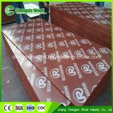 4X8 * 21mm Red Phenolic Glue Forme de béton Coffrage contreplaqué marin