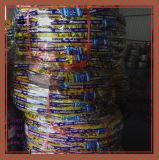 Schlauchlos, Reifen 100/90-17tl, 110/90-17tl, 110/80-18tl des ISO-Nylonmotorrad-6pr