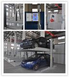 Подъем стоянкы автомобилей автомобиля Wounderful двойной Cyclinder