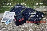 Mini generatore autoalimentato solare del caricatore solare astuto con la batteria di litio