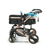 3 de luxo de alta qualidade em 1 carrinho de bebé carrinhos buggy Pram fabricados na China