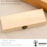Hongdao artesanal personalizado Cor Natural de madeira de pinho de baixo preço da caixa de gaxetas _E