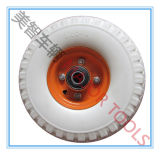 10X3.00-4 손 트롤리 바퀴 PU 거품 타이어