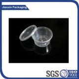 حقنة مستهلكة بلاستيكيّة مرق فنجان مع غطاء