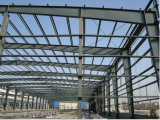 Edificio de la estructura de acero/taller ligeros galvanizados sumergidos calientes (SSW-002)