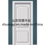 豪華な木製のドアデザイン固体チークの木製の贅沢な表玄関