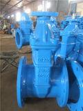 Válvula de porta Ductile do ferro da engrenagem de sem-fim BS5163