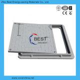 600X600mm quadratischer FRP Einsteigeloch-Deckel-Plastik